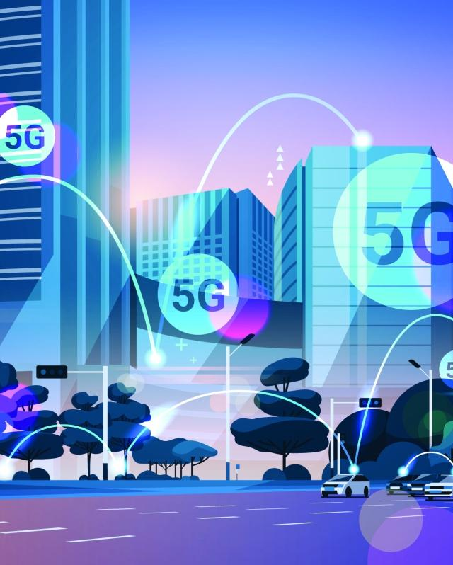 5G and Car-hailing Cover
